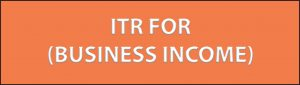 ITR FOR BUSINESS INCOME